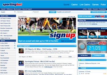 sportingbet com au login